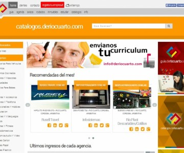 CATALOGOS.DERIOCUARTO.COM en Rio Cuarto