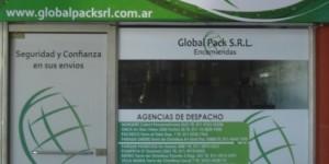 global pack srl transportes | comisiones | fletes | correos en andres dadone 850 local 2e, rio cuarto, cordoba