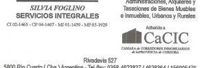 inmobiliaria silvia foglino inmobiliarias en rivadavia 527, rio cuarto, cordoba