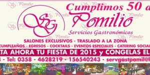 servicios gastronomicos pomilio fiestas eventos | catering en colon 243  , rio cuarto, cordoba