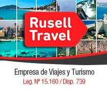 publicidad Rusell Travel
