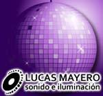publicidad Lucas Mayero Disc Jockey y Ambientacion