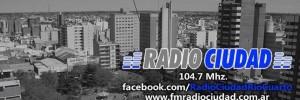 radio ciudad fm 104.7 medios de comunicacion radios en lamadrid 734, rio cuarto, cordoba
